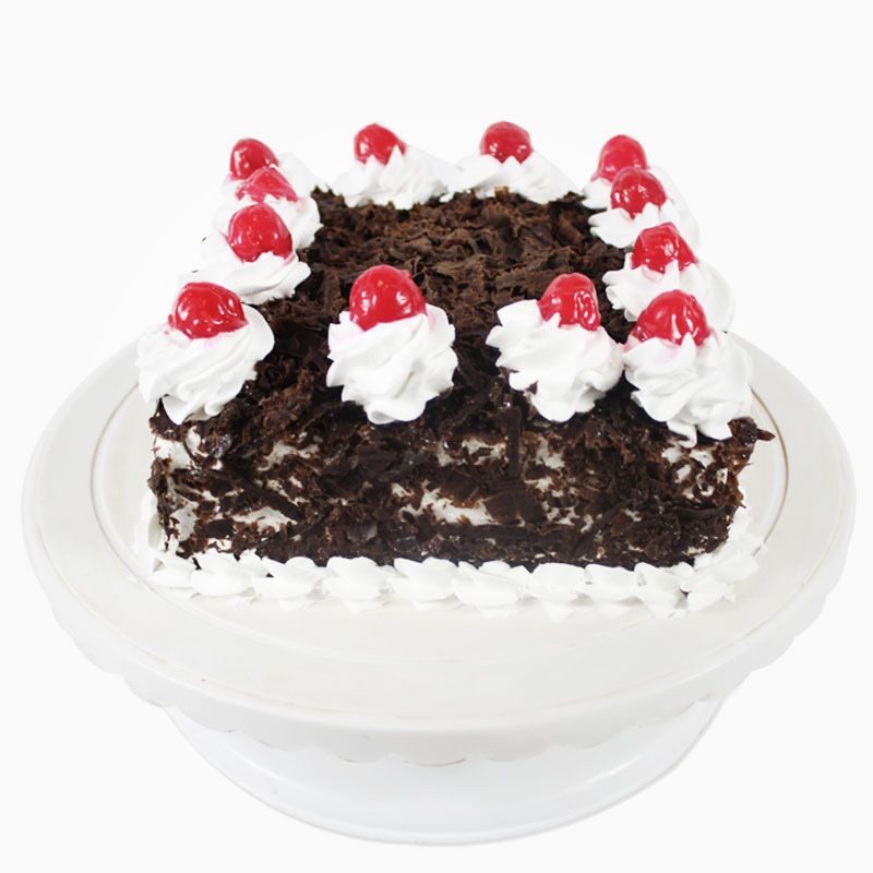 Cherry Eggless Square Black Forest Cake