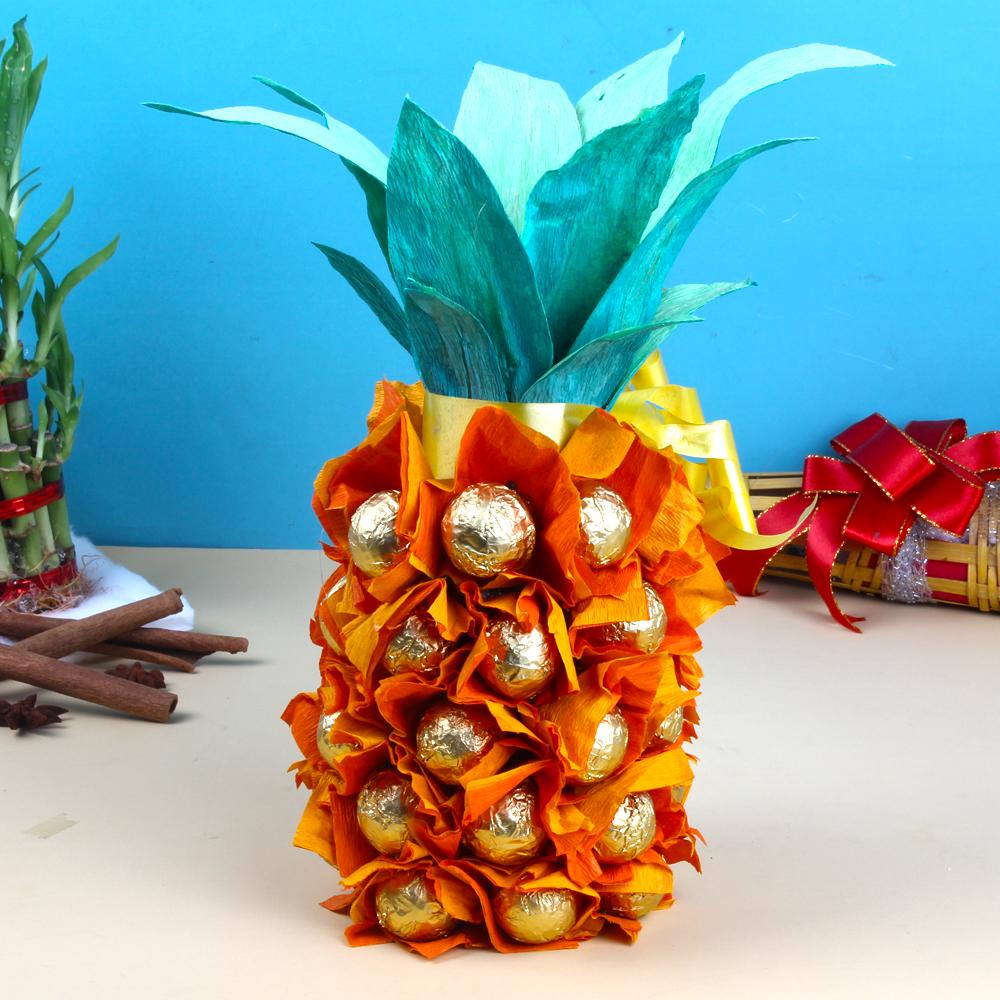 Special Pineapple Homemade Chocolates Treat