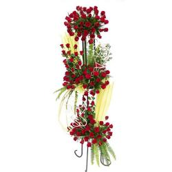 100 Red Roses Standing Arrangement for Pune