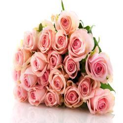 20 Pink Rose Bouquet for Delhi
