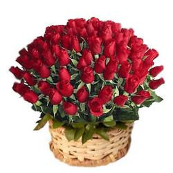 50 Red Roses Arrangement for Bangalore