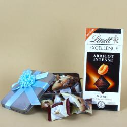 Al Alwani Chocolate dates with Lindt Excellence for Pune