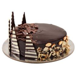 Almond Truffle Chocolate Cake for Moradabad