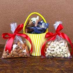 Almond with Cashew and Chocolate Dates for Indore