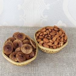 Almonds and Fig Basket for Chennai