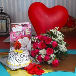 Amazing Valentine Gift Combo for Kolkata