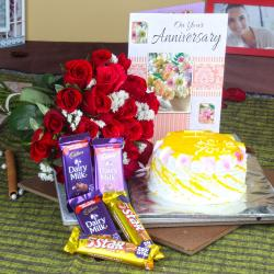 Anniversary Love Gift Pack for Ahmedabad