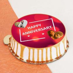 Anniversary Photo Cake for Jaipur