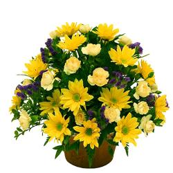 Arrangement Of Yellow Flowers for Cuttack