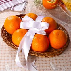 Basket Full of Oranges for Chandigarh