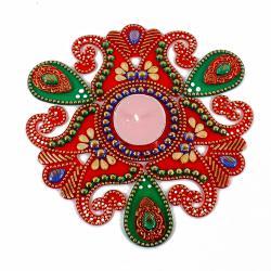 Beautiful Artificial Rangoli for Pune
