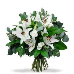 Bouquet Of White Lilies for Baroda