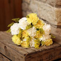 Bouquet of Yellow Carnations