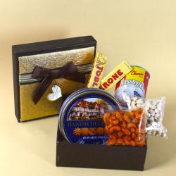 Box full of Cookies and Chocolates with Sweets for Noida