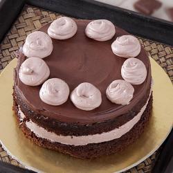 Bread Cream Chocolate Cake for Ahmedabad