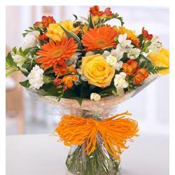 Bunch Of Seasonal Flowers for Jaipur
