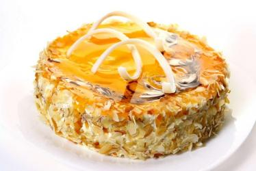 Butterscotch Caramel Cake from Five Star Bakery for Lucknow