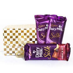 Cadbury Dairy Milk Silk Bars for Indore