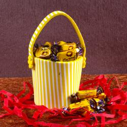 Caramel Toffees Bucket for Dewas