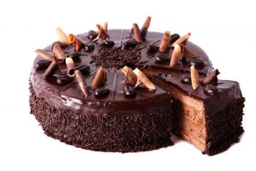 Choco-chips Bean Cake for Hyderabad