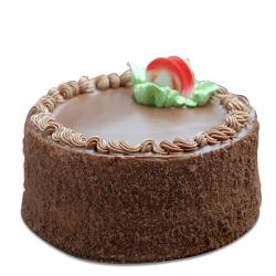 Chocolate Brown Cake for Delhi