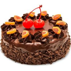 Chocolate Cake with Orange Touch for Noida