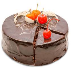 Chocolate Cherry Cake for Ahmedabad