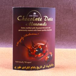 Chocolate Date Almonds for Dewas