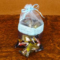 Chocolate Dates in Basket for Pune