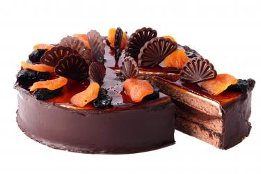 Chocolate Orange Cake for Kolkata