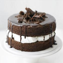 Chocolate Sponge Layer Cake for Gurgaon