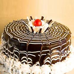 Chocolate Zebra Cake for North Goa