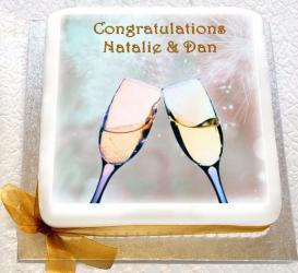 Congratulations Photo Cake for Bangalore