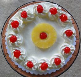 Creamy Pineapple Cake for Gurgaon