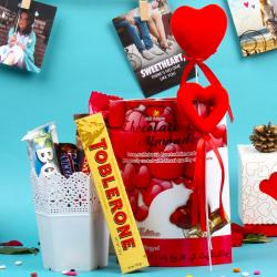 Delectable Imported Chocolate Love Combo for Chandigarh
