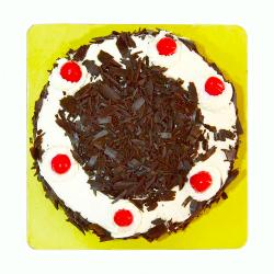 Delicious One Kg Black Forest Fresh Cream Cake for Lucknow