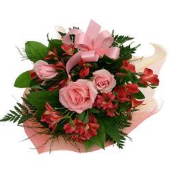 Devine Pink Roses for Belgaum