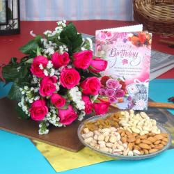 Dryfruit Combo for Healthy Birthday Wishes for Jaipur
