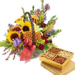 Dryfruit Flowers Pack for Pune