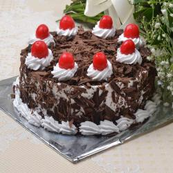 Eggless Black forest Cake Online for Manipal