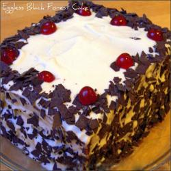 Eggless Black Forest Cake for Hyderabad
