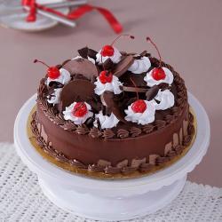 Eggless Chocolate Cherry Cake for Moga