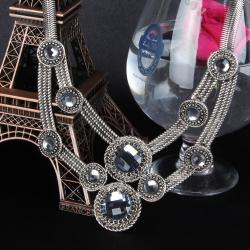 Ethnic Look Sliver Necklace for Belgaum