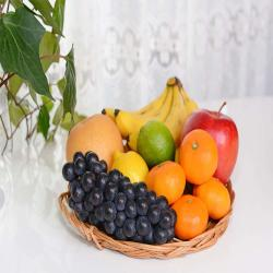 Exclusive Fruits Basket for Baroda