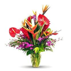 Exotic Flowers Vase for Chennai