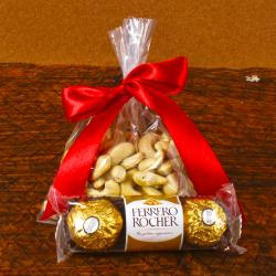 Ferrrero Rocher with Cashew for Kanchipuram