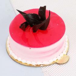 Fresh Cream Strawberry Cake Online for Baroda