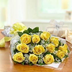 Friendship flower bouquet for Hyderabad