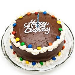 Gems Frosting Chocolate Cake for Kolkata