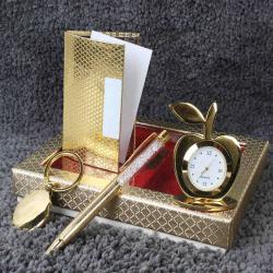 Gold Plated Gift Items Hamper for Cuttack